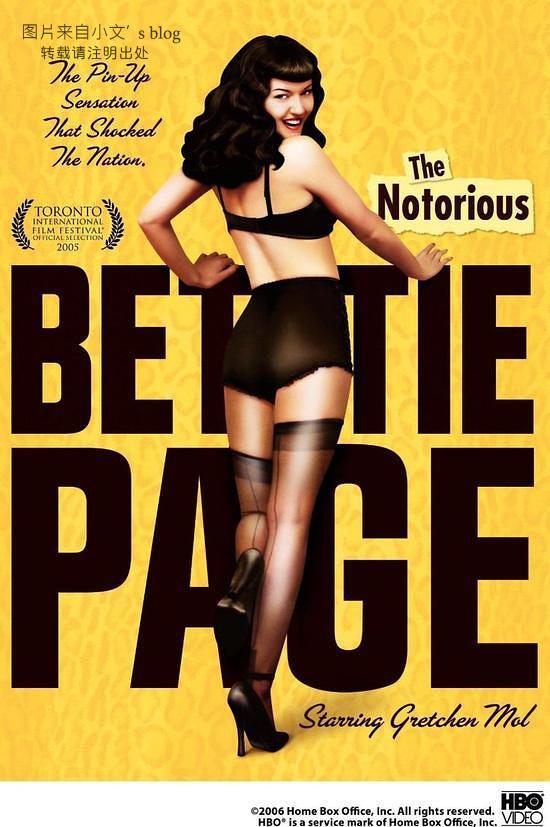 Bettie Page是美国历史上著名艳星,这是她的传记电影