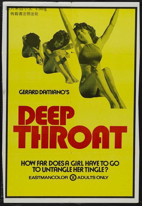 《深喉》是美国影响力最大的色情电影,历史地位无可法撼动